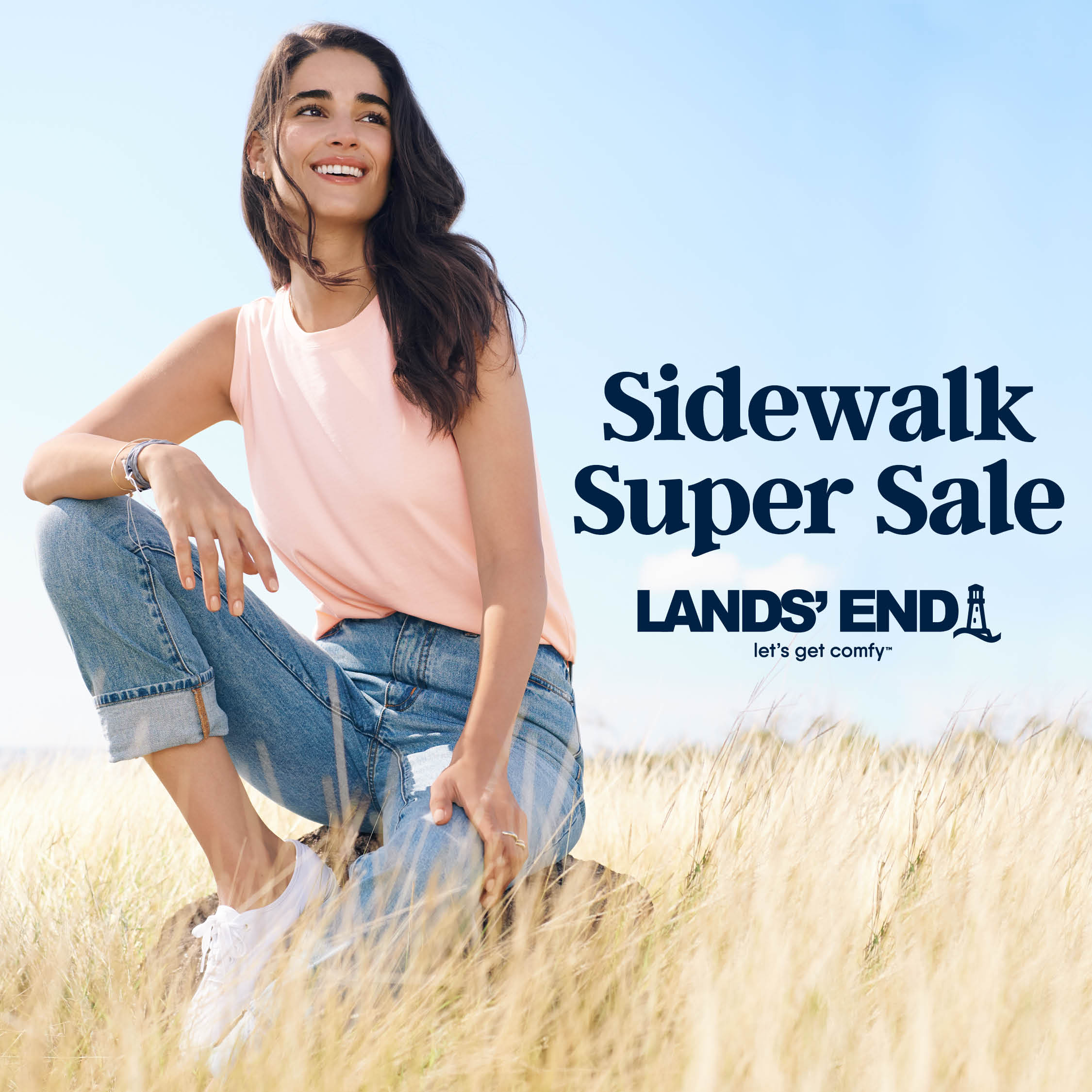 Sidewalk Super Sale from Lands' End