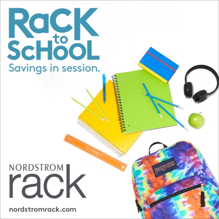 RacK to ScHoOL from Nordstrom Rack