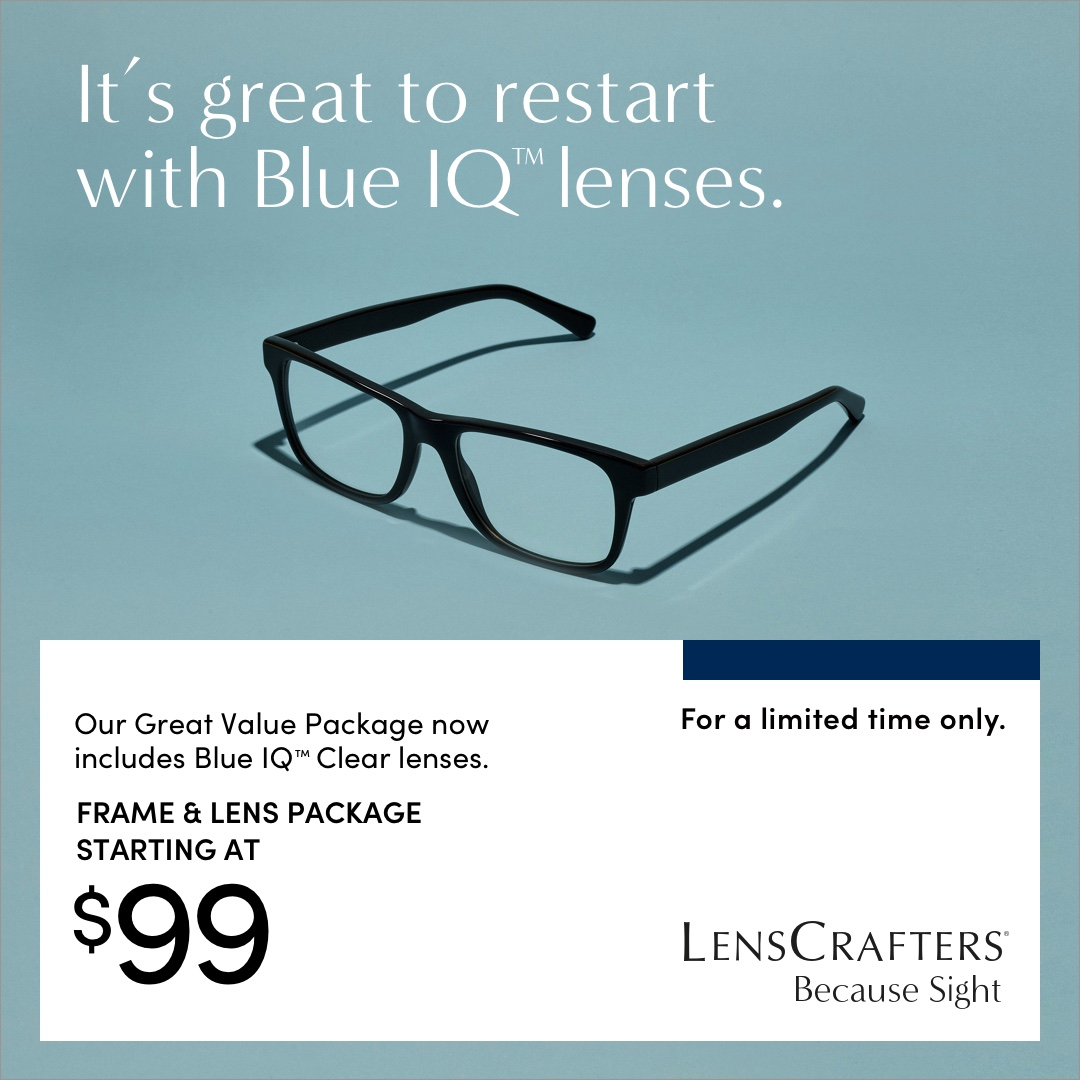 $99 Frame and Lens Package