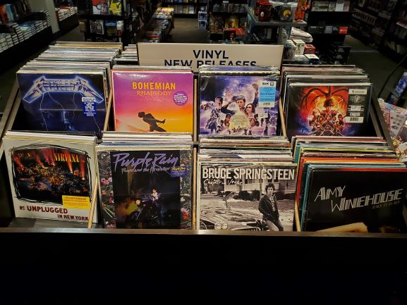 BAM! Is now carrying vinyl! from Books-A-Million