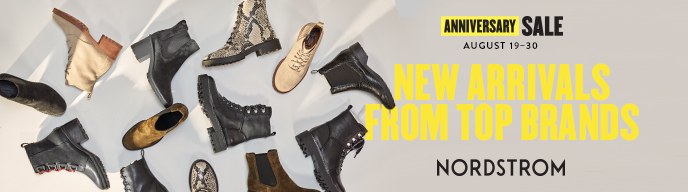 Anniversary Sale August 19-30 from Nordstrom