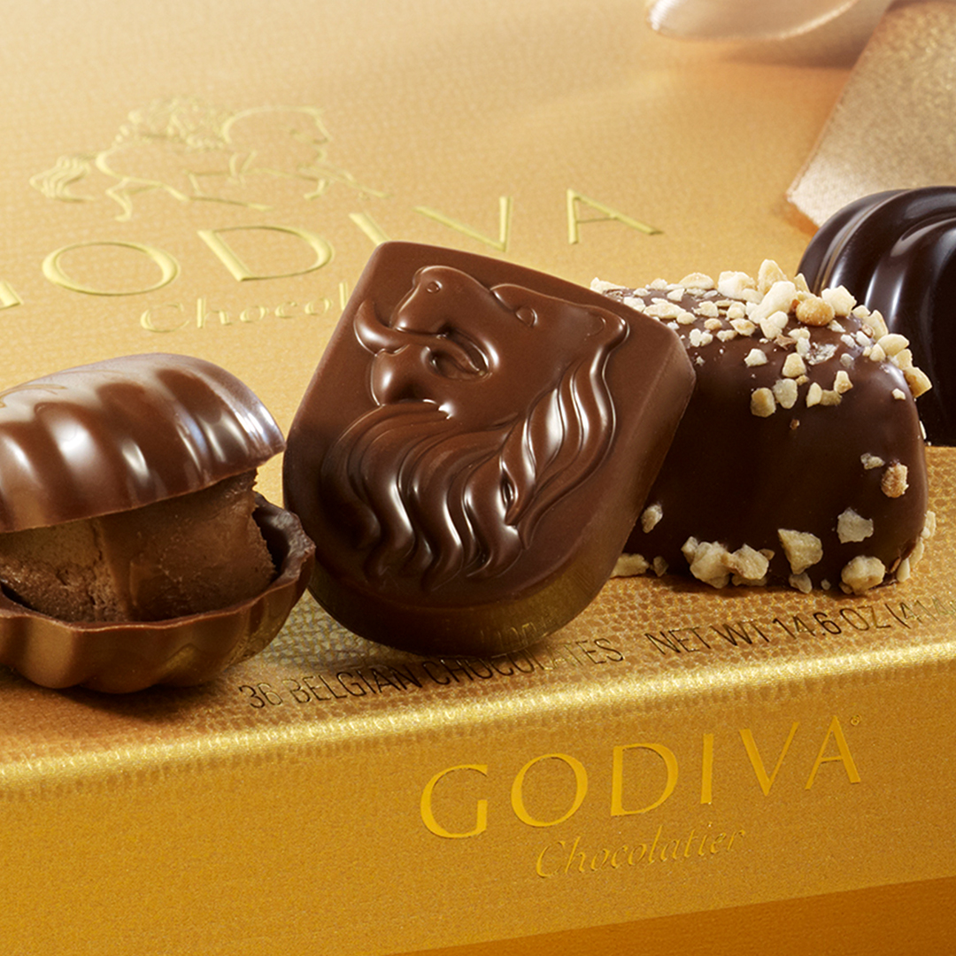 Up to 25% OFF Gold Ballotins & Select Items from Godiva Chocolatier