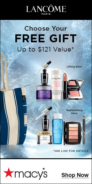 Lancôme Free Gifts With Purchase from macy's