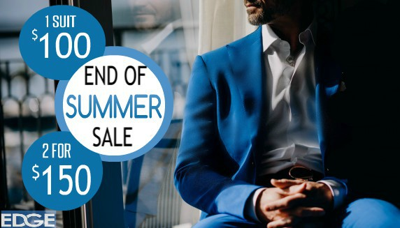 End of summer sale from Edge
