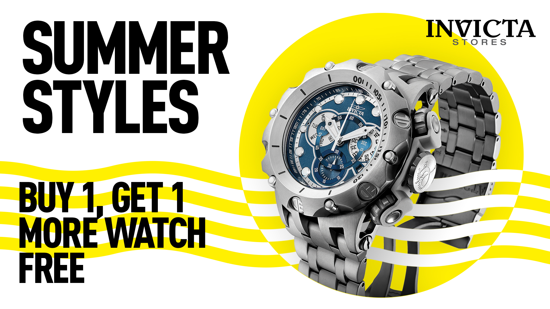 Buy 1 Get 1 Free from Invicta