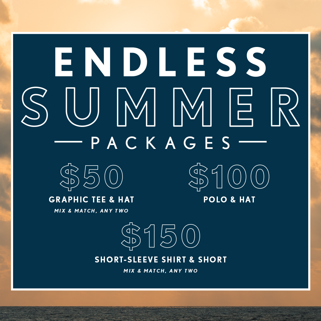 Endless Summer Packages from Travis Mathew