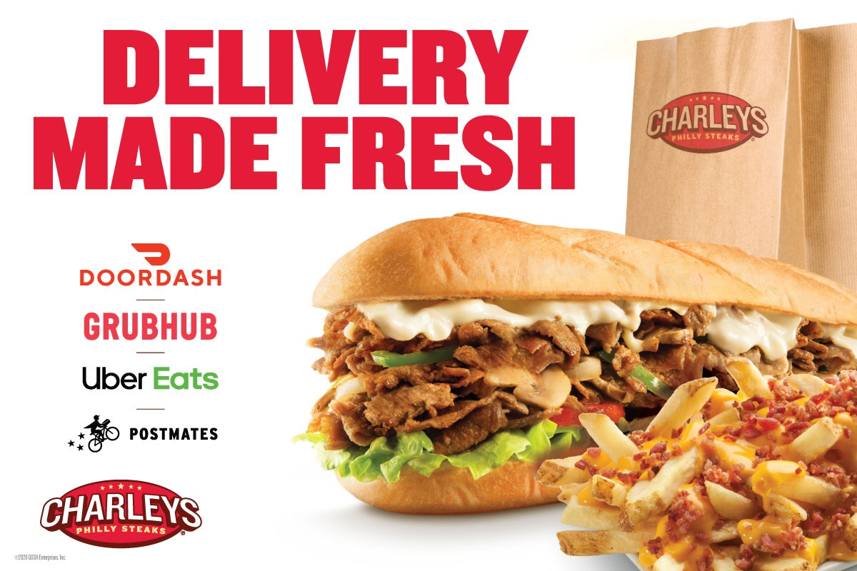 Delivery Made Fresh from Charleys Grilled Subs