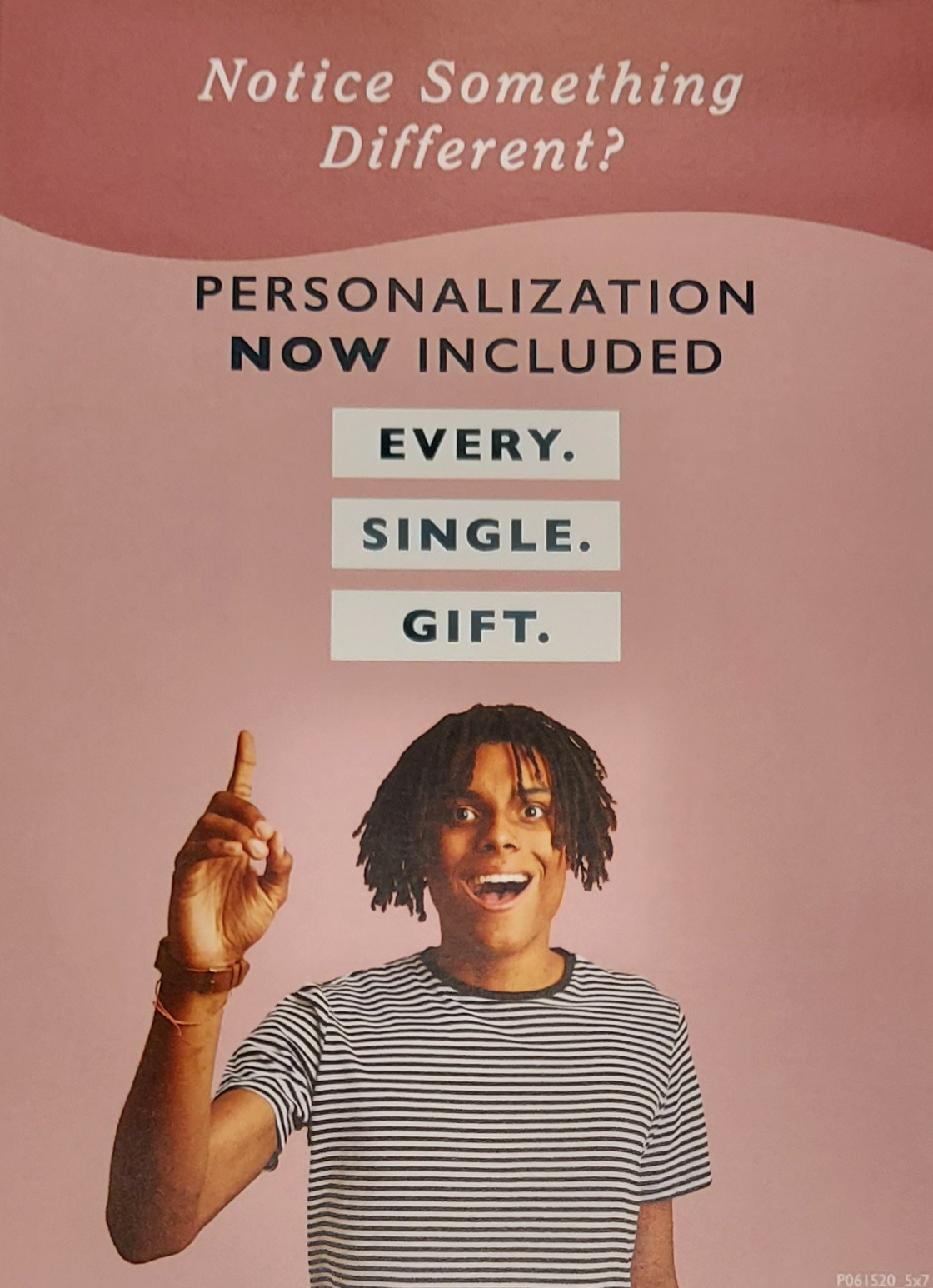 Personalization Now Included!