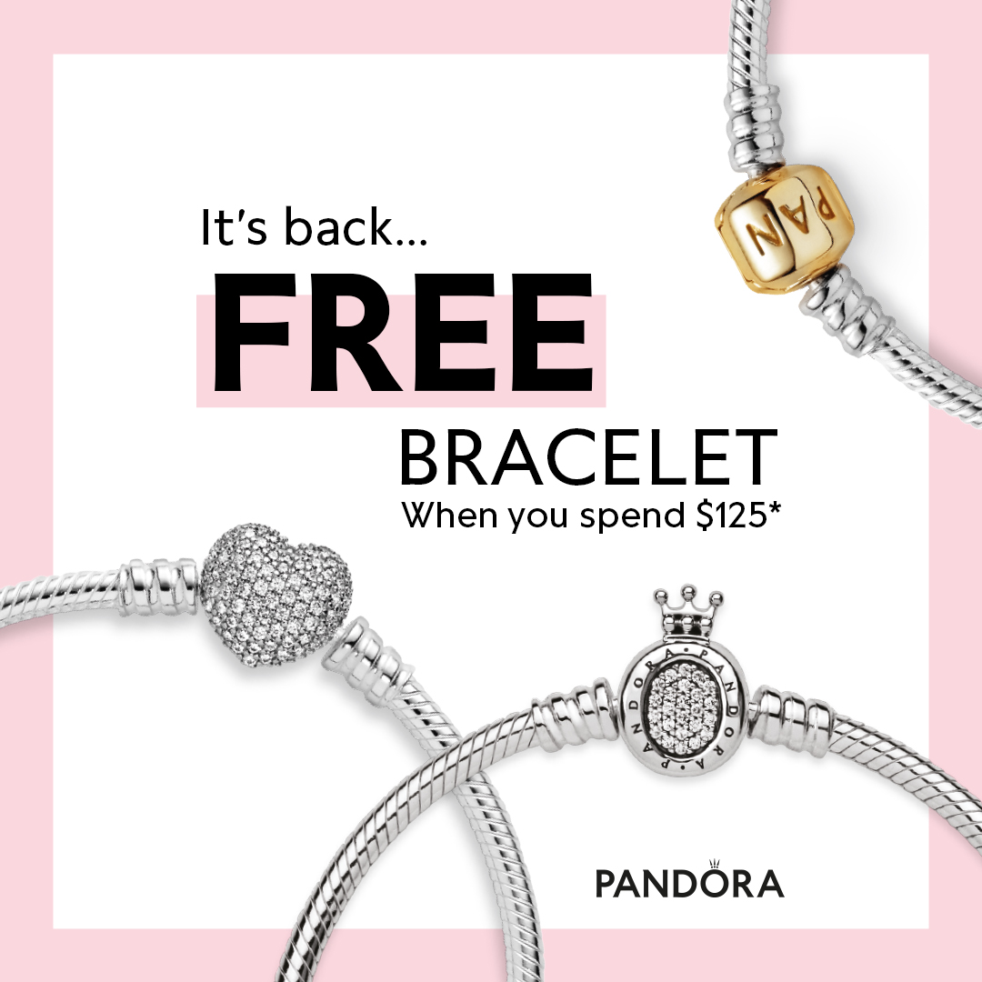 September Bracelet Promotion from PANDORA