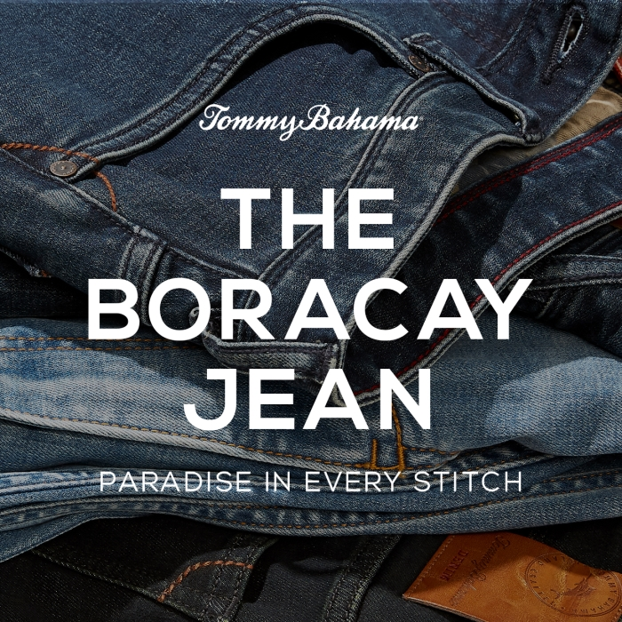 Introducing The Boracay Jean from Tommy Bahama