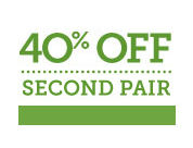 40% off Your Second Pair of Glasses from Pearle Vision