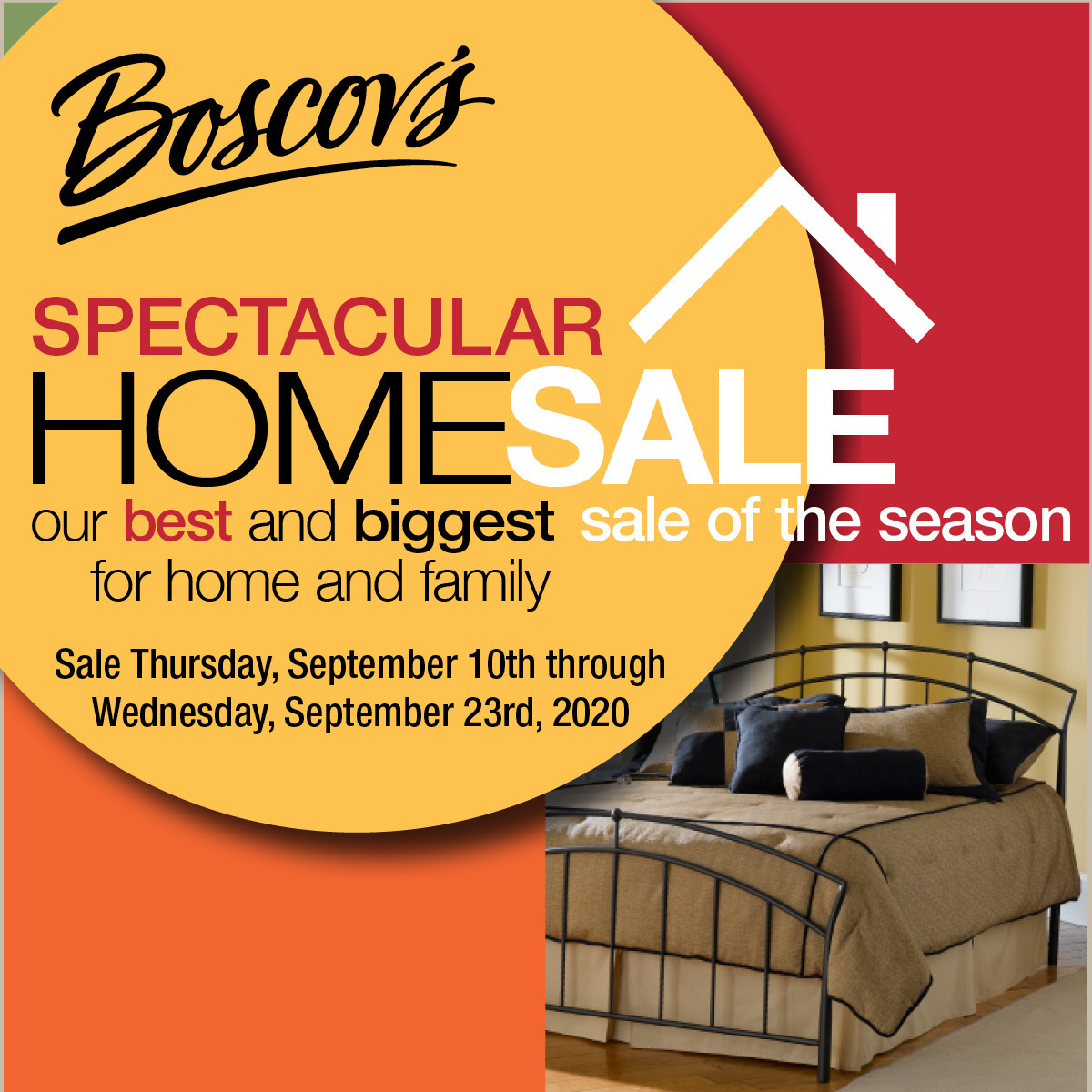 Boscov's Spectacular Home Sale from Boscov's