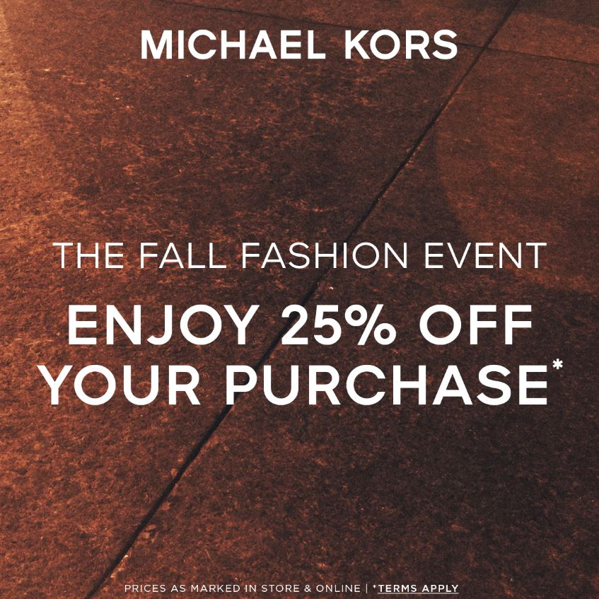 Fall Fashion Event from Michael Kors