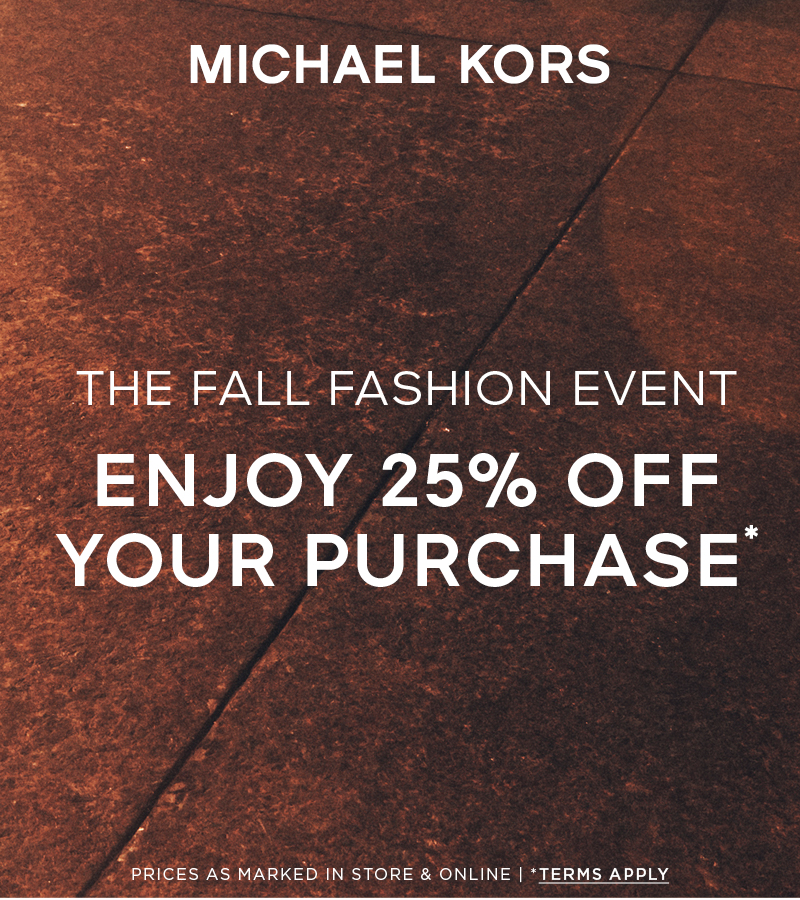Fall Fashion Event - Michael Kors from Michael Kors
