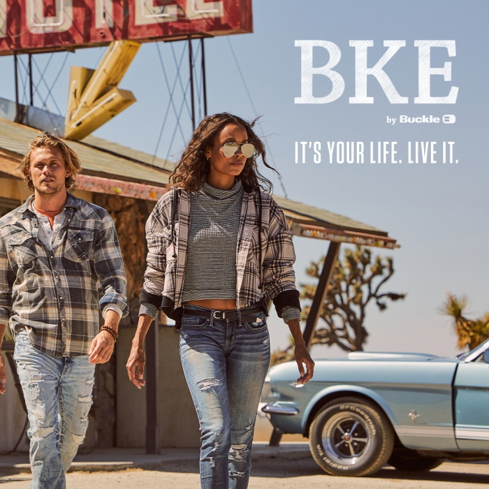 Live your life - inspire your own path. from Buckle