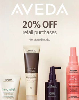 20% OFF from Aveda
