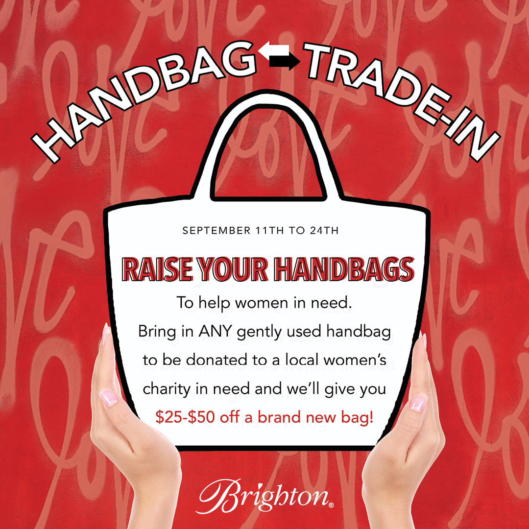 Raise Your Handbags: Trade-In from Brighton Collectibles