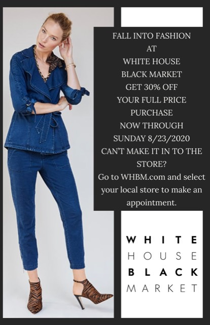 It's Starting to Feel Like Fall! from White House Black Market
