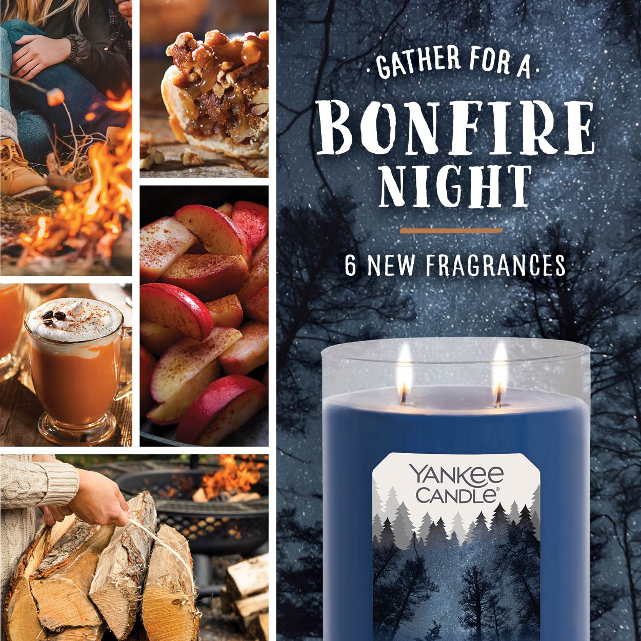 Bonfire Nights Collection from Yankee Candle