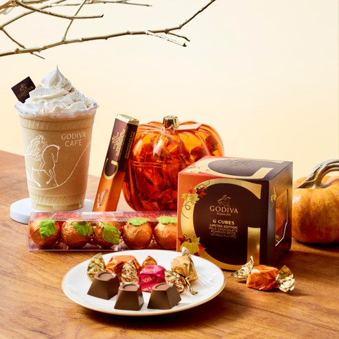 Fall Flavors at Godiva from Godiva Chocolatier