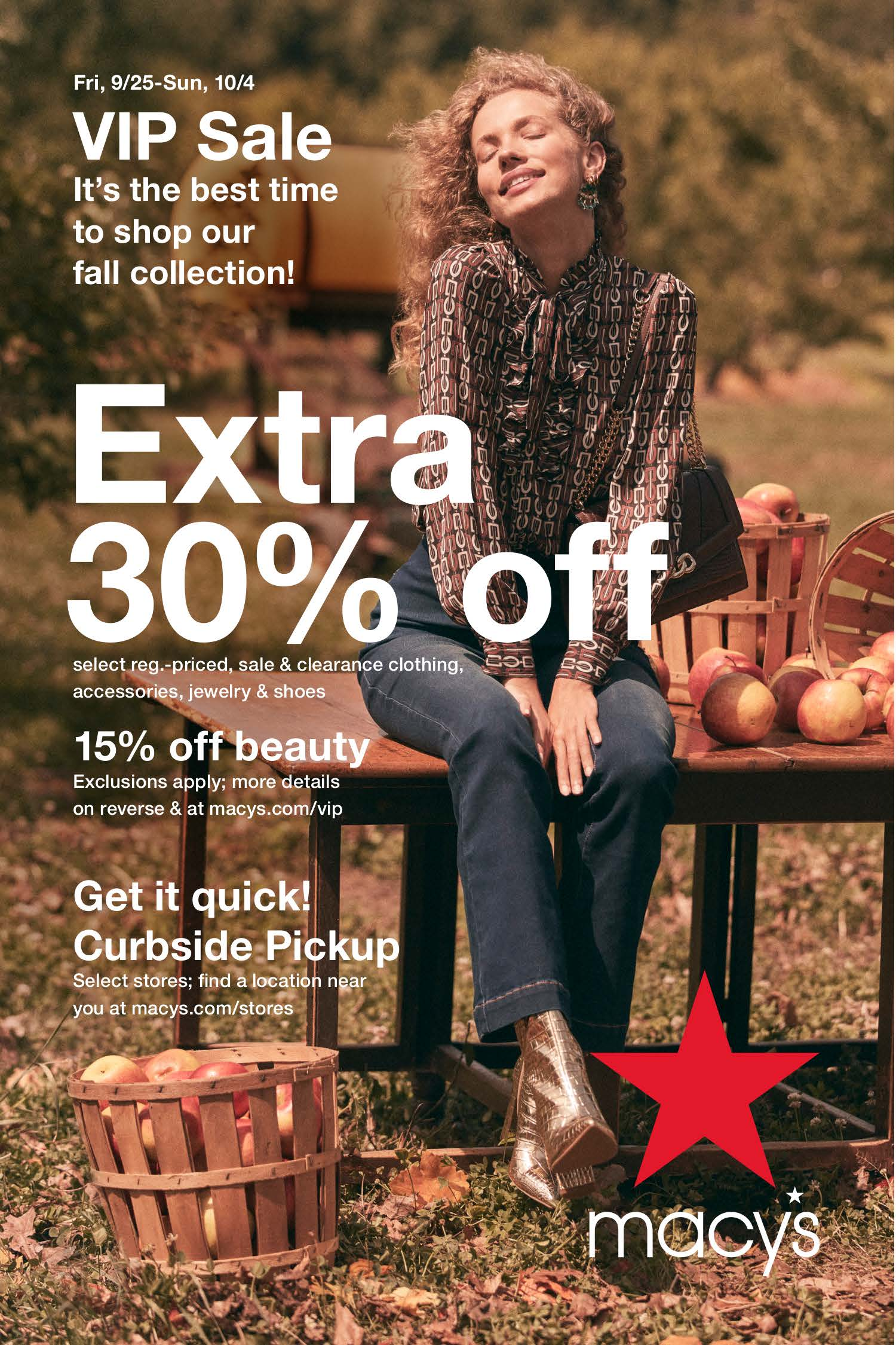 Macy's Fall Event from macy's