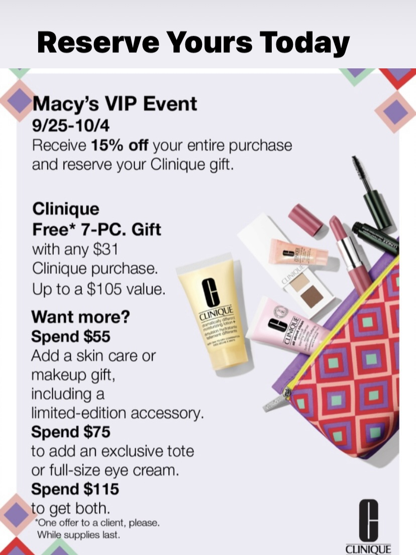 Macy's VIP Event from macy's