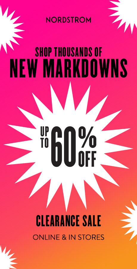 Shop Thousands of New Markdowns from Nordstrom