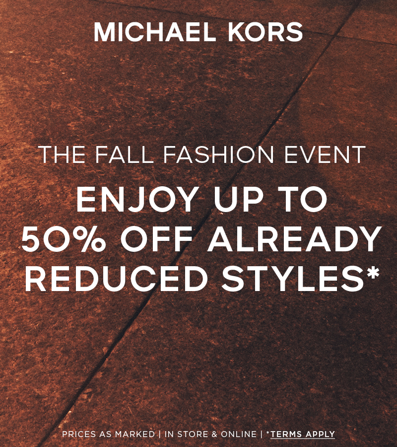 Additional 50% Off Sale Styles from Michael Kors