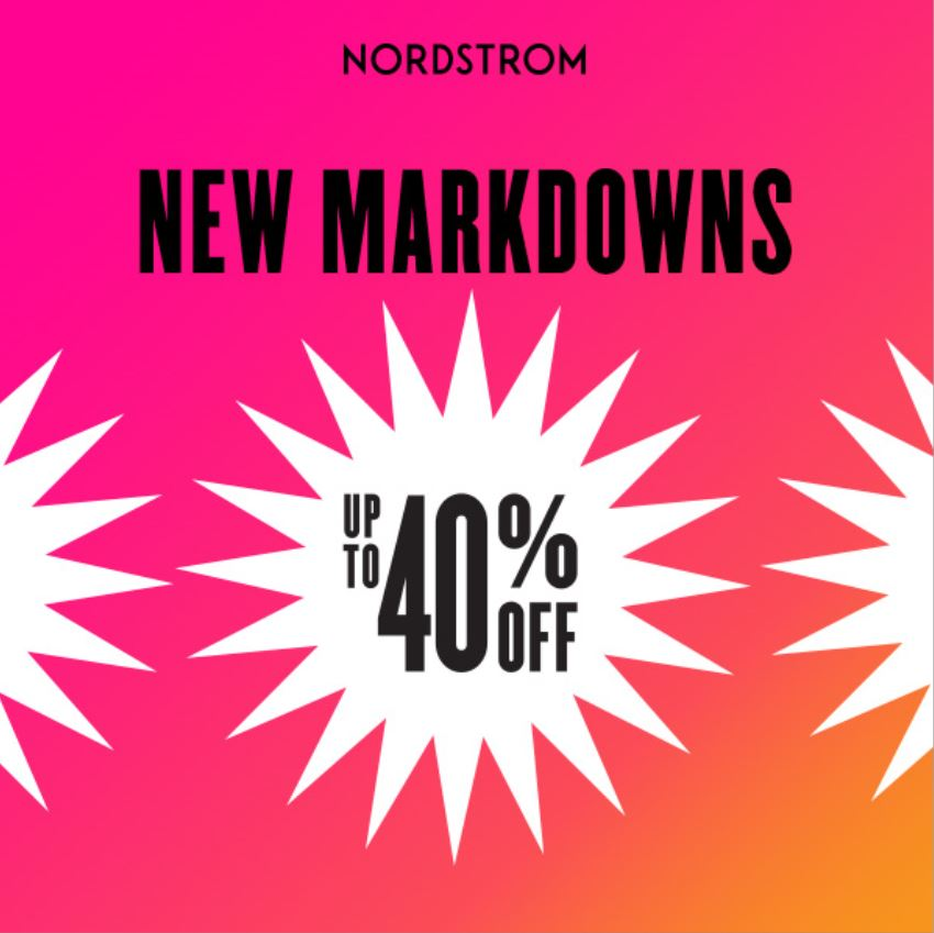 Clearance Sale from Nordstrom