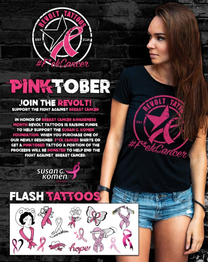 Pinktober at Revolt from Revolt Tattoos