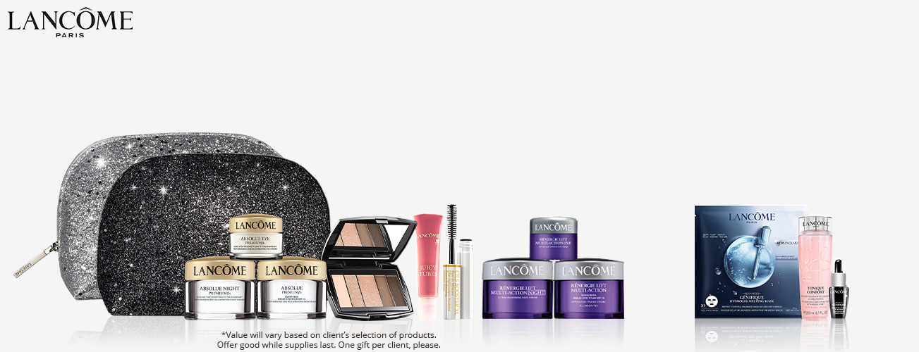 Free Gift With Lancôme Purchase!