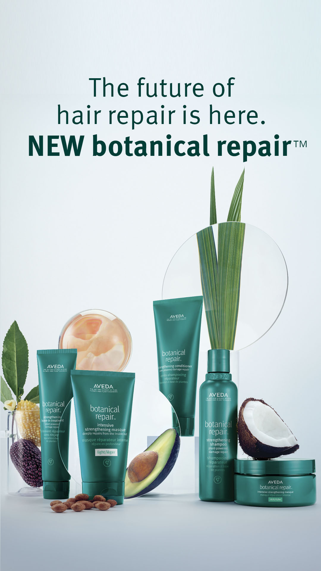 Aveda Introduces NEW Botanical Repair System! from Aveda
