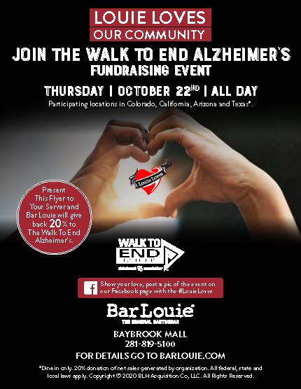 Walk to End Alzheimer's from Bar Louie