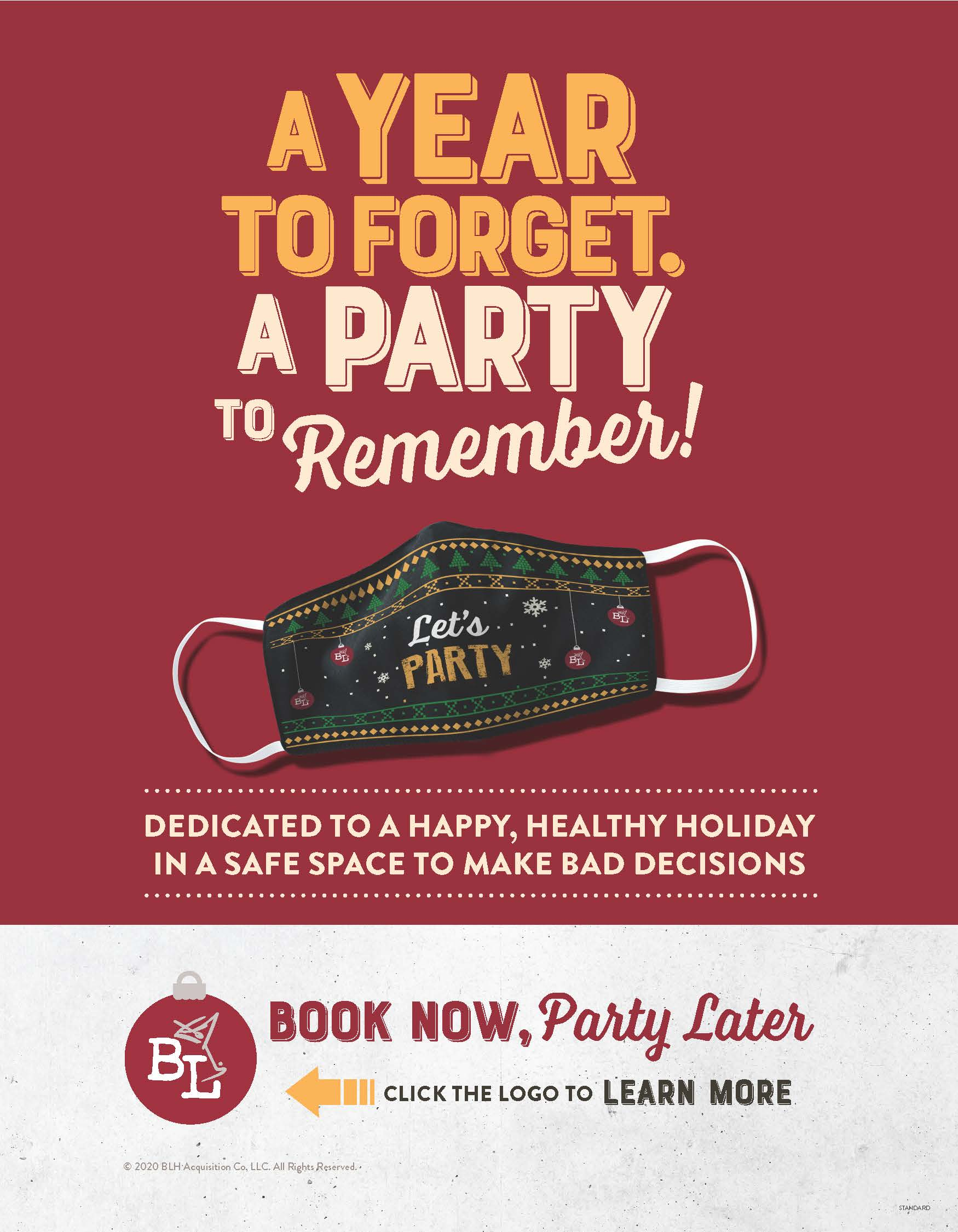 Book Your Holiday Party! from Bar Louie