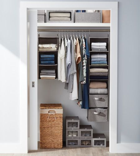 Closet Must-Haves from The Container Store