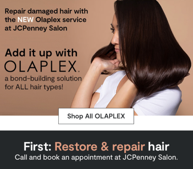 New Olaplex Service at JCPenney from JCPenney