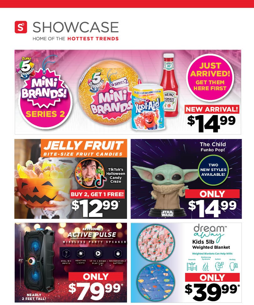 Weekly Specials from Showcase