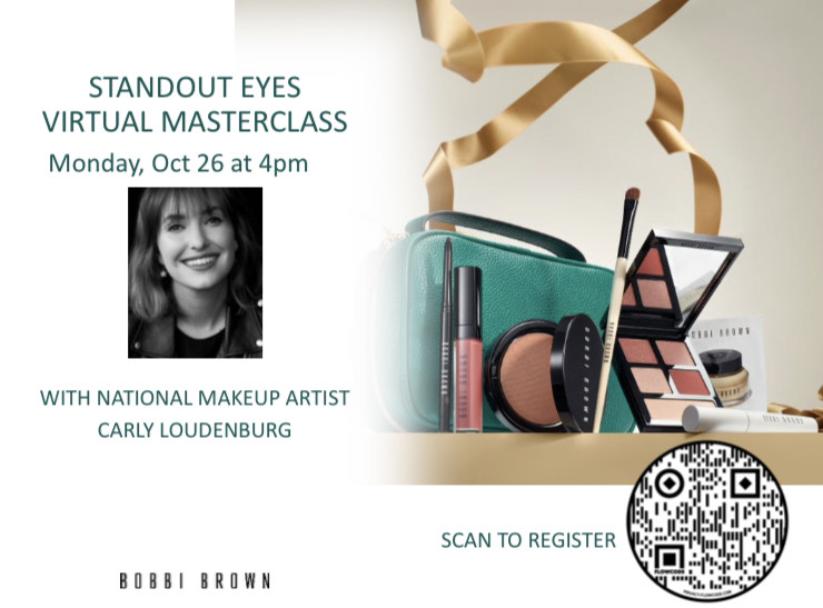 """""""Standout Eyes""""  Virtual masterclass from macy's"""