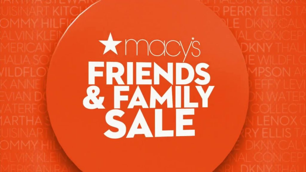 Macy's Friends & Family Beauty Event from macy's