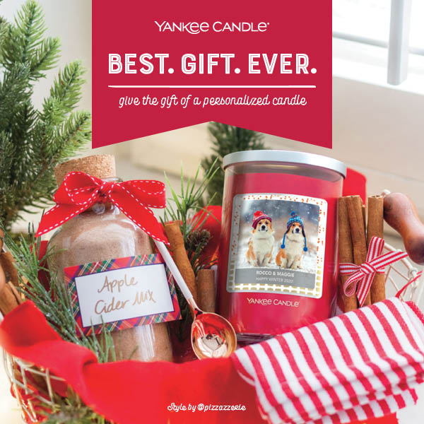 Give the Gift of a Personalized Candle