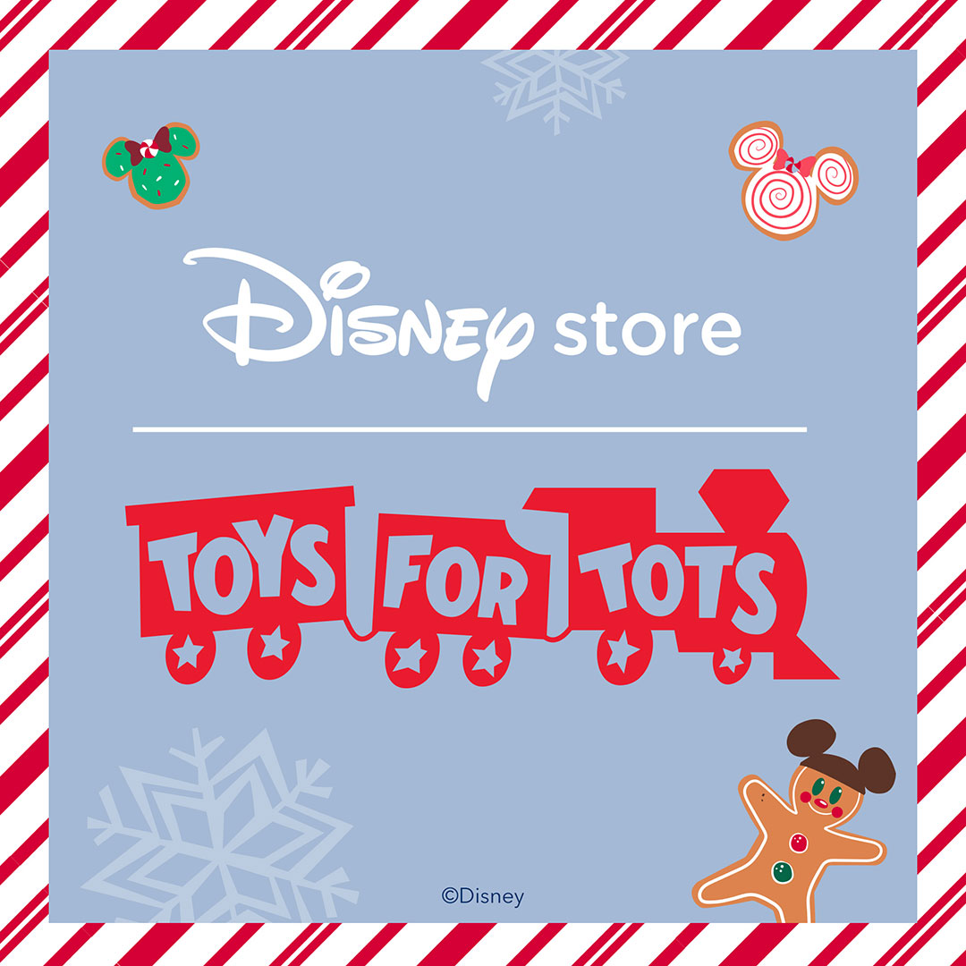Disney Store Toys for Tots from Disney Store