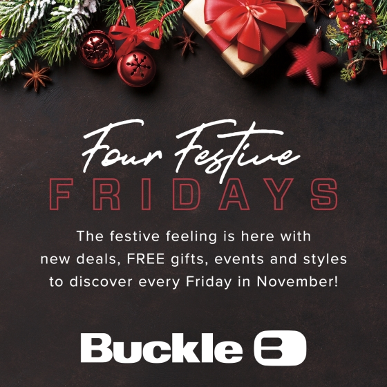 Festive Fridays Are Here