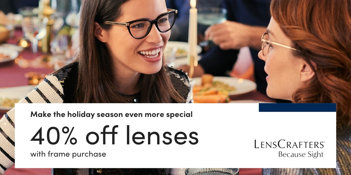 Make the holiday season even more special from LensCrafters