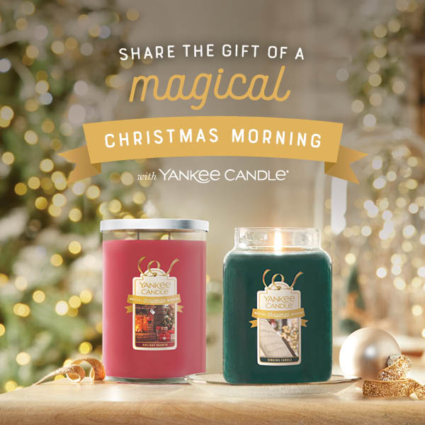 Magical Christmas Morning Collection from Yankee Candle