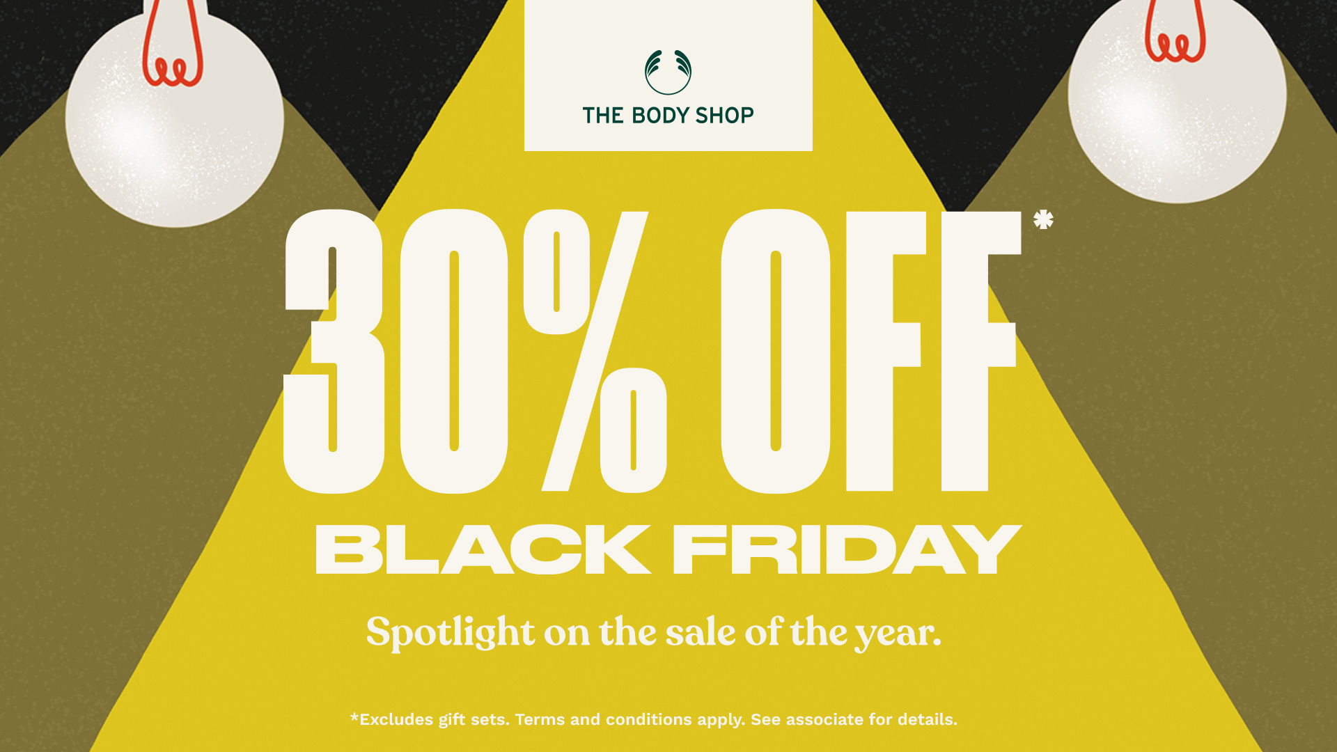 30% off Black Friday!