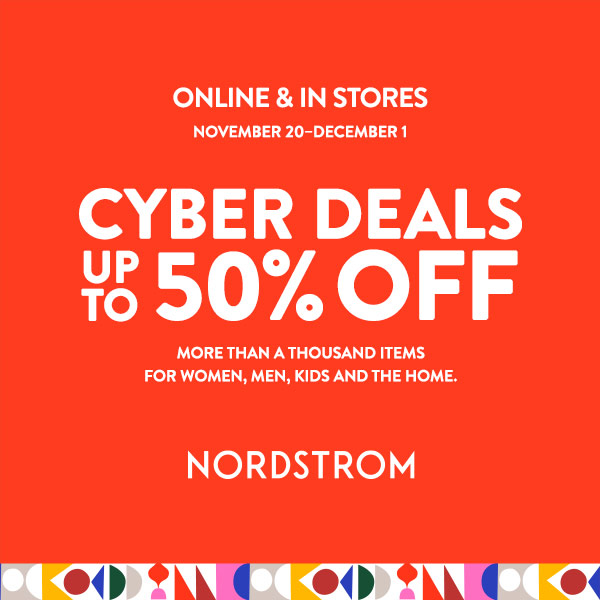 CYBER DEALS from Nordstrom