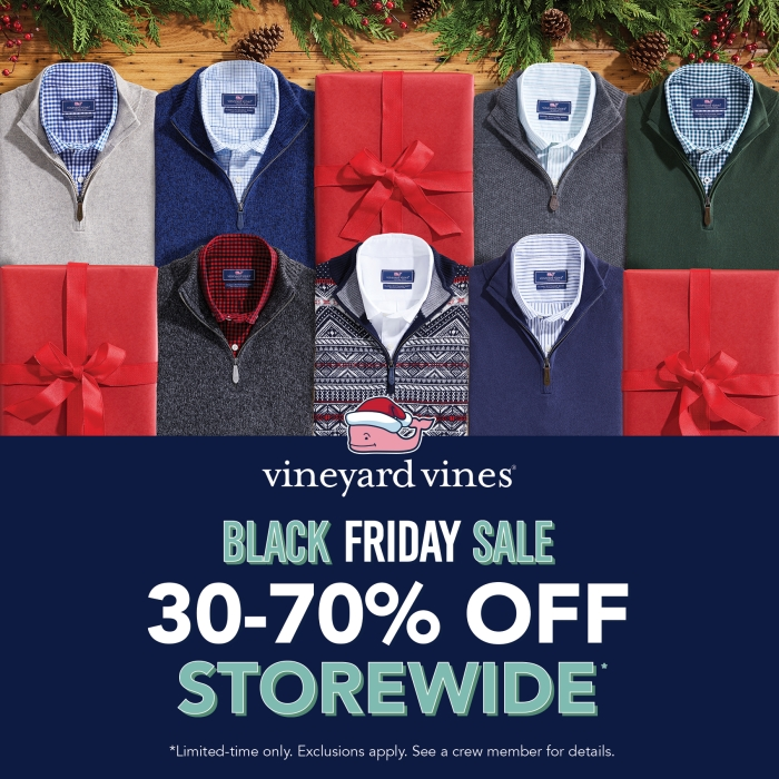 30-70% Off* from Vineyard Vines