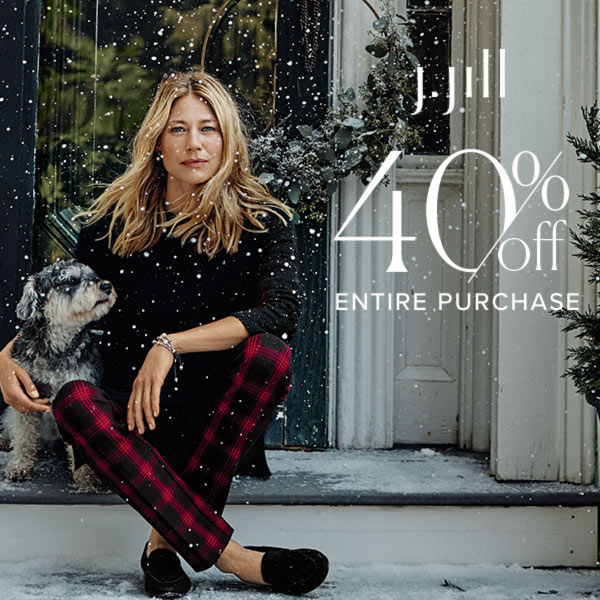 40% off Entire Purchase* from J.Jill