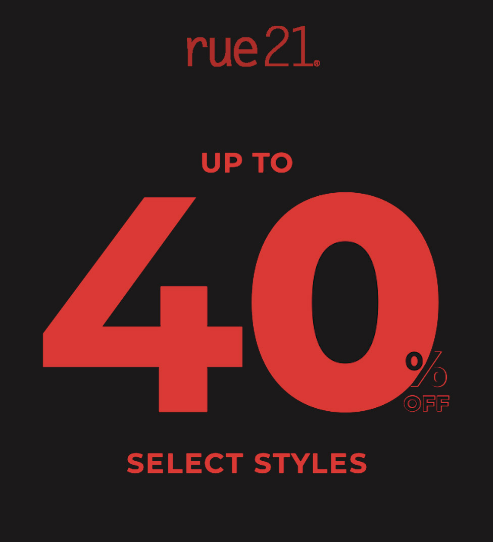 Black Friday Weekend at Rue21 from rue21