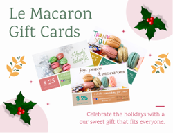 Gift Cards from Le Macaron